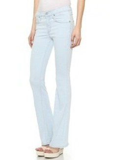 James Jeans Fonda Sweeping Side Seam Flare Leg Jeans