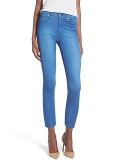 James Jeans High Rise Crop Denim Leggings (Malibu)