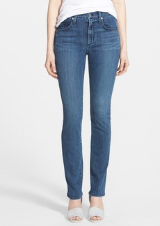 James Jeans High Rise Straight Leg Jeans (Voyage)