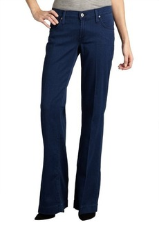 James Jeans indigo stretch denim 'Fly Boy' flare leg trouser jeans