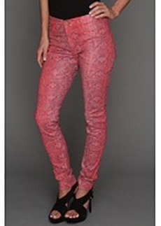 James Jeans James Twiggy Skin in Ruby Alligator