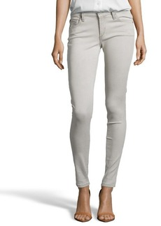 James Jeans le crème stretch cotton 'Twiggy' skinny jeans