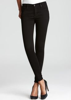 James Jeans Legging Jeans - Twiggy in Black