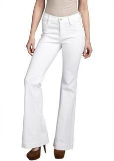 James Jeans luna white stretch denim 'Humphery' wide leg jeans
