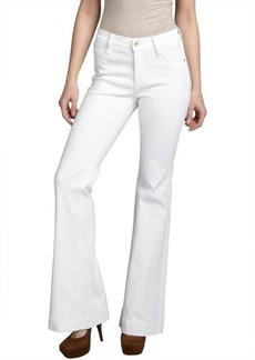 James Jeans luna white stretch denim 'Humphery' wide leg jeans