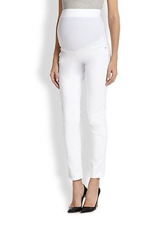 James Jeans Maternity Twiggy Stretch Jersey-Paneled Skinny Maternity Jeans