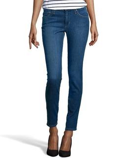 James Jeans medium blue wash stretch denim 'Louiseville' skinny jeans