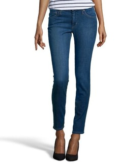 James Jeans medium blue wash stretch denim 'Louiseville' skinny jeans