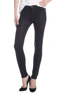 James Jeans navy coated stretch 'Twiggy' skinny jeans