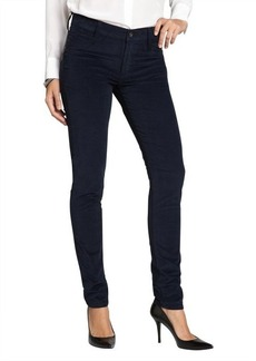 James Jeans navy cotton stretch corduroy 'Twiggy' skinny jeans