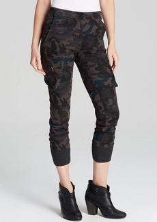 James Jeans Pants - Slouchy Fit Utility Cargo