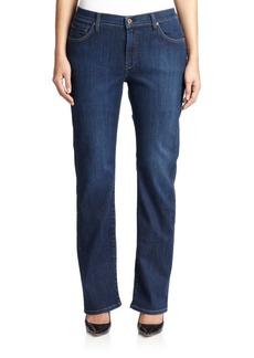 James Jeans, Plus Size Straight-Leg Jeans