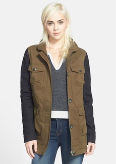 James Jeans Ponte Sleeve Jacket