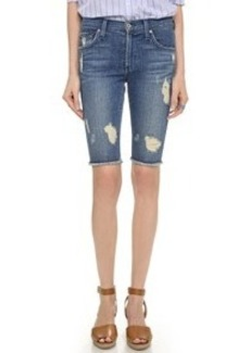 James Jeans Raw Hem Bermuda Shorts