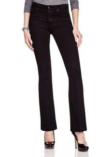James Jeans Shayebel Flared Jeans in Black Swan