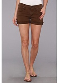 James Jeans Shorty Slouchy Fit Boyshorts in Sand Dune
