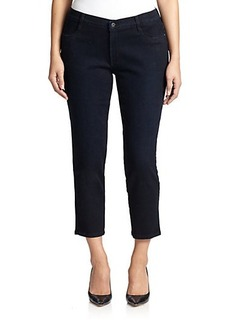 James Jeans, Plus Size Cropped Legging Jeans