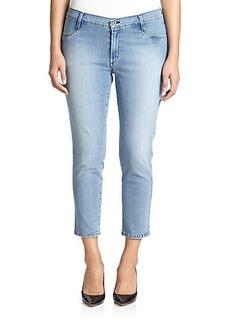 James Jeans, Plus Size Cropped Legging Jeans