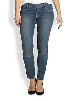 James Jeans, Sizes 14-24 Motorcycle Skinny Jeans