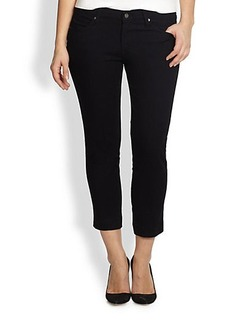 James Jeans, Sizes 14-24 Skinny Cropped Jeans