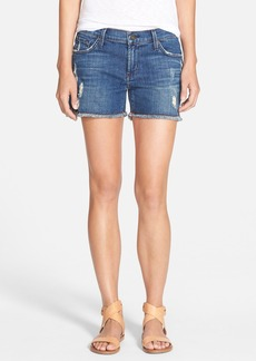 James Jeans Slouchy Boyfriend Shorts (Indio)