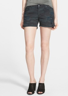 James Jeans Slouchy Cutoff Shorts (Espionage Distressed)
