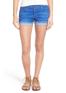 James Jeans Slouchy Denim Boy Shorts (Awakening)