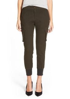 James Jeans Slouchy Fit Stripe Cargo Jogger Pants