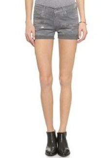 James Jeans Slouchy Fit Zip Shorts