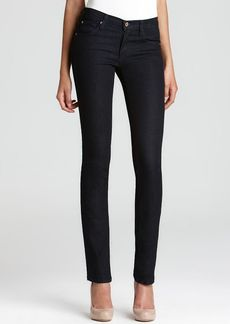 James Jeans Straight Leg Jeans - Hunter High Rise in Seduction Wash