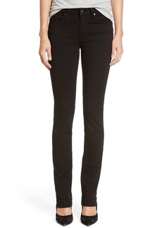James Jeans Straight Leg Jeans (Black Clean II)