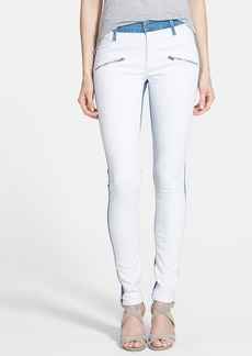 James Jeans 'Twiggy' Colorblock Skinny Jeans (Skyline)