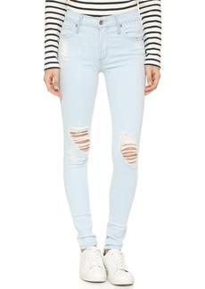 James Jeans Twiggy Distressed 5 Pocket Legging Jeans