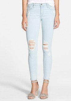 James Jeans 'Twiggy' Five Pocket Leggings (Sorbet)