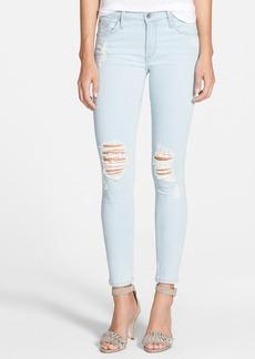 James Jeans 'Twiggy' Five Pocket Leggings (Sorbet)