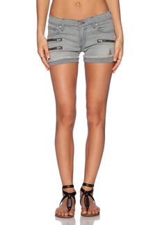 James Jeans Utility Zip Slouchy Short