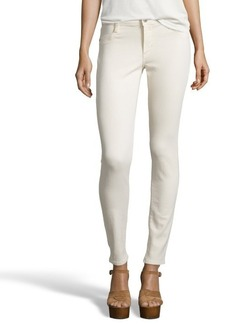 James Jeans vanilla stretch cotton coated 'James Twiggy' skinny jeans