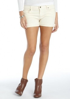 James Jeans vanilla stretch cotton 'Slouchy Fit Boyfriend Shorts'