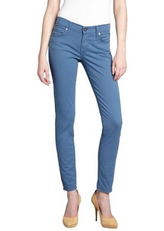James Jeans windsor blue stretch denim 'Twiggy' legging skinny jeans