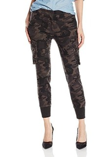 James Jeans Women's Boyfriend Cargo, Shadow Combat, 28