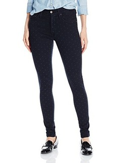 James Jeans Women's High Class Skinny, Midnight Twinkle, 31