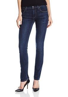 James Jeans Women's Hunter High Rise Straight Leg Jean In Winter Blues