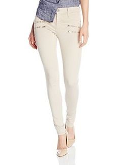 James Jeans Women's James Twiggy Crux, Winter White, 28