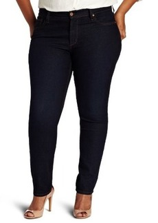 James Jeans Women's Plus-Size Twiggy Z Skinny-Leg  Jean in Dark Indigo