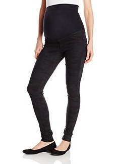 James Jeans Women's Twiggy External Maternity Band Legging Jean In Espionage