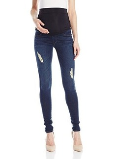 James Jeans Women's Twiggy External Maternity Band Legging Jean In Pirouette