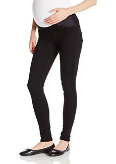 James Jeans Women's Twiggy Under Belly Maternity Legging Jean In Black Swan