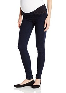 James Jeans Women's Twiggy Under Belly Maternity Legging Jean In Blue Velvet