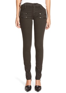 James Jeans Zip Detail Denim Leggings (Javachip)