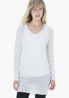 James Perse CASHMERE HOODIE TUNIC